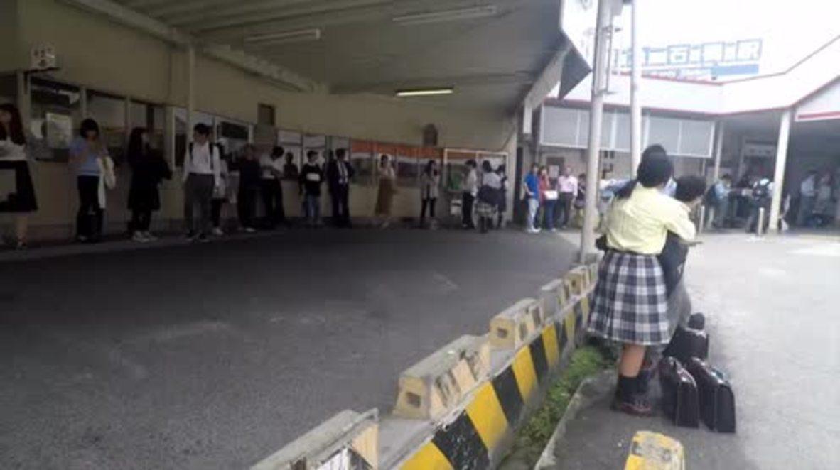 Japón: Los habitantes de Osaka comentan su experiencia durante el terremoto de 6.1 grados