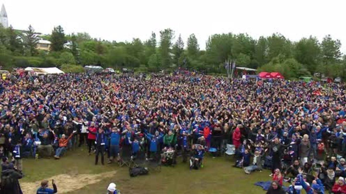 Iceland: Reykjavik thunder-clap not enough as Iceland slip to 2-0 defeat