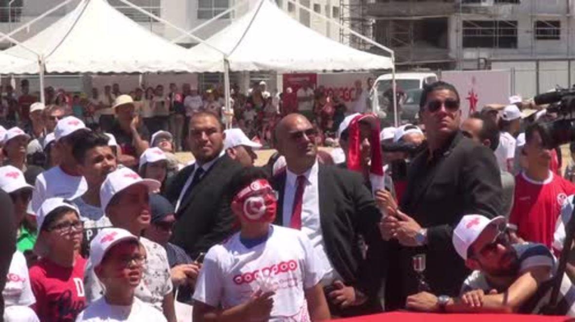 Tunisia: Tunisian fans endure side's 5-2 defeat at hands of Belgium