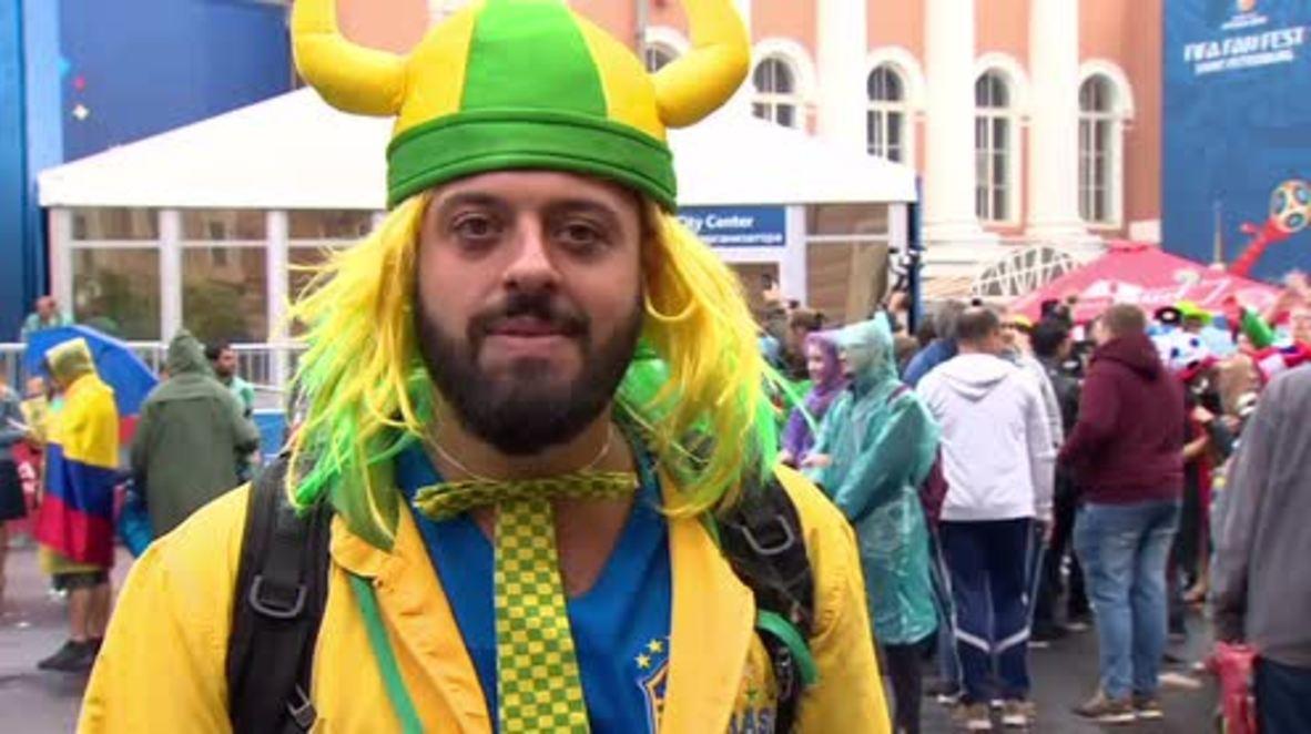 """Rusia: """"¡Rusos, os amo!"""" - Tomer Savoia, el entusiasta brasileño que se ha hecho viral"""