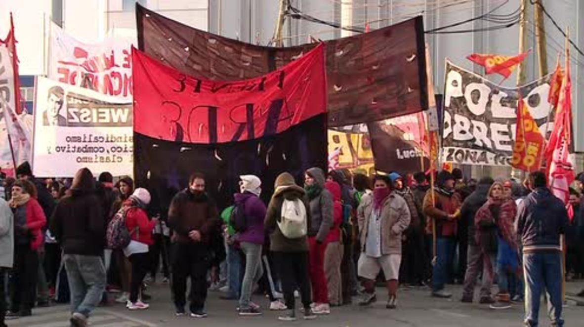 Argentina: Protestas en todo el país por el acuerdo del FMI