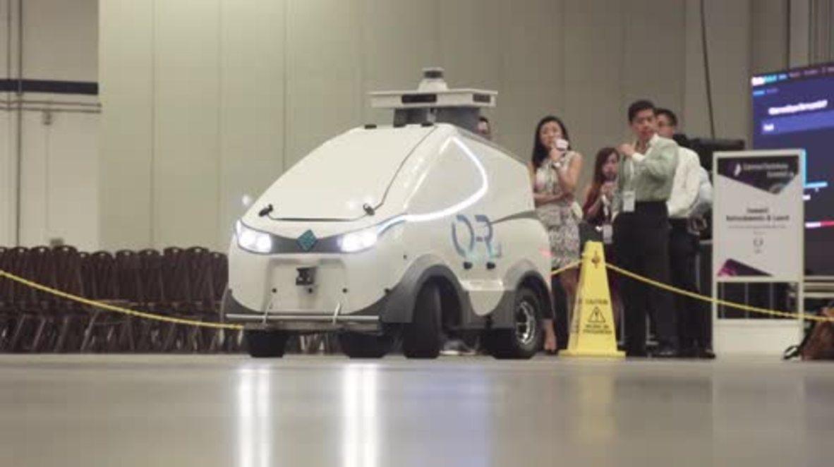 Singapore: Autonomous surveillance robot unveiled at Comtech Asia 2018