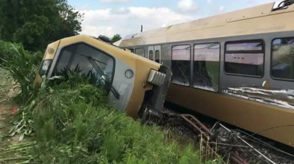 Austria: Un tren descarrila y deja 30 heridos en St. Polten