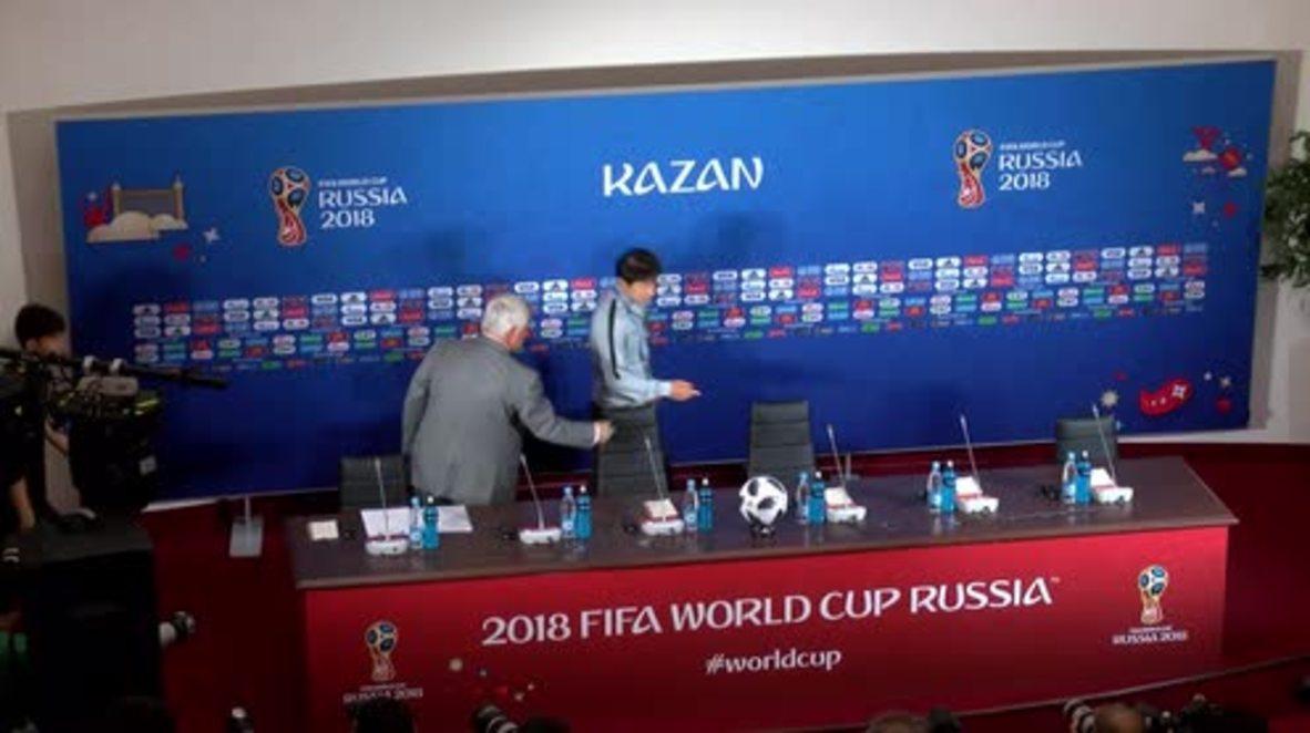 Rusia: El entrenador coreano dice que Alemania será 'un rival más difícil'