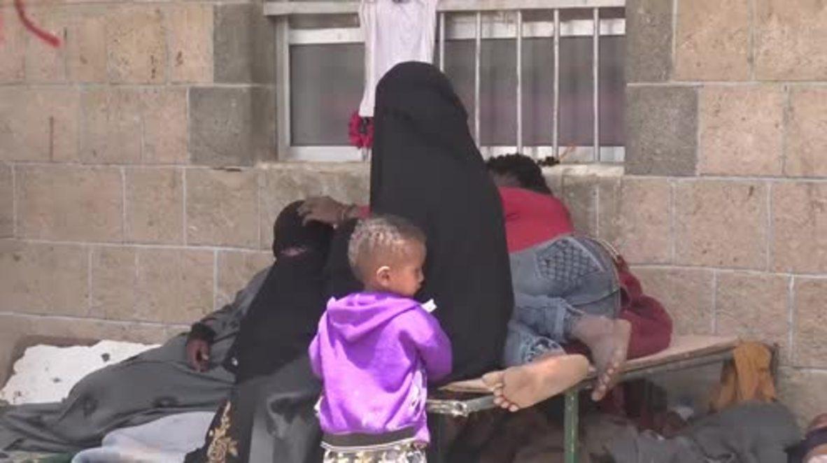 Yemen: 'Death is around us' - displaced Hodeidah families find shelter in Sanaa school