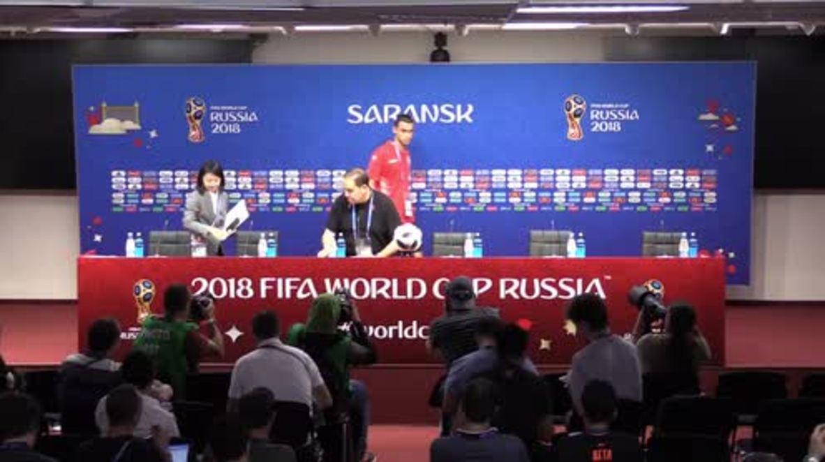 Russia: 'Tunisian squad has to work very hard' – Coach ahead of Panama match