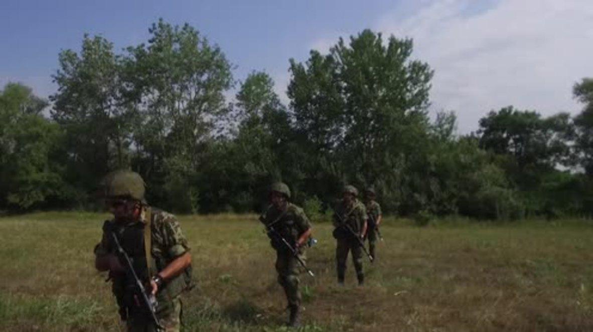 """Rusia: Las maniobras militares """"Hermandad Eslava 2018"""" entre Serbia, Bielorrusia y Rusia comienzan en Krasnodar"""