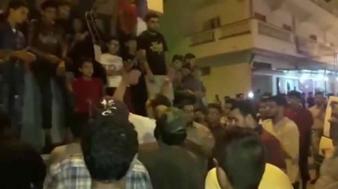 Libya: Celebrations in Derna after Haftar claims control