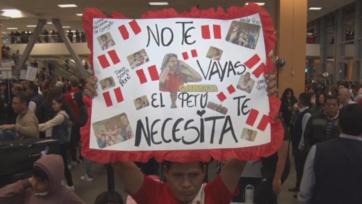 Peru: Champions' welcome for Peru squad in Lima despite WC exit
