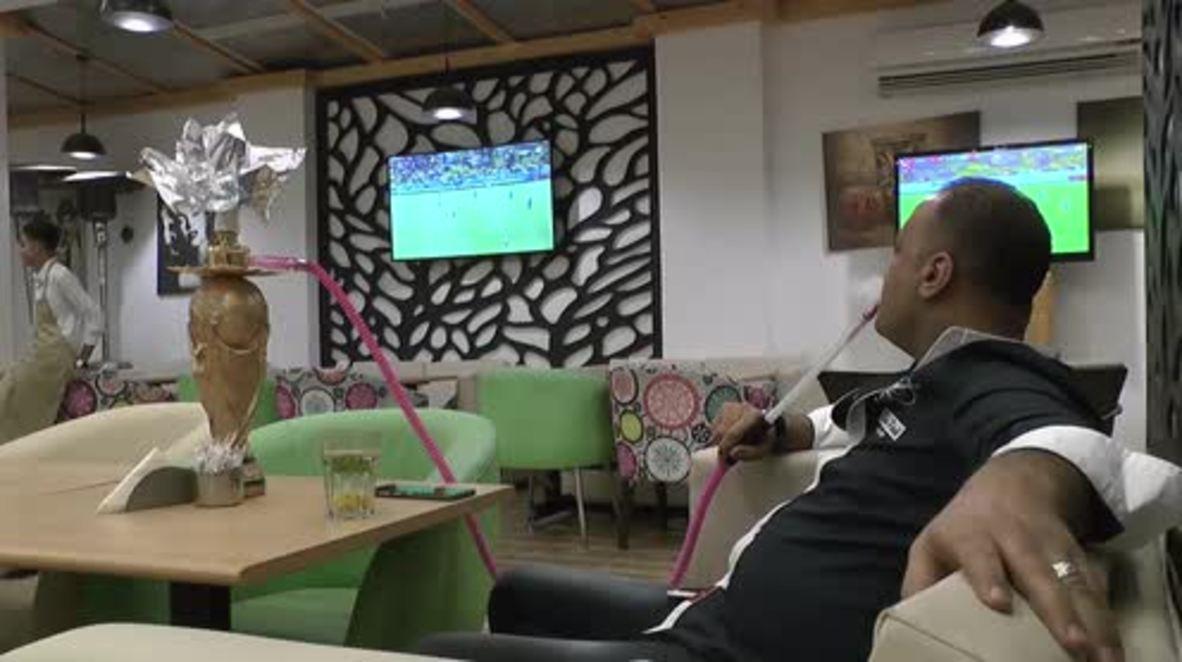 Smoke like an Egyptian! World Cup shisha fails to stop Pharoahs' exit