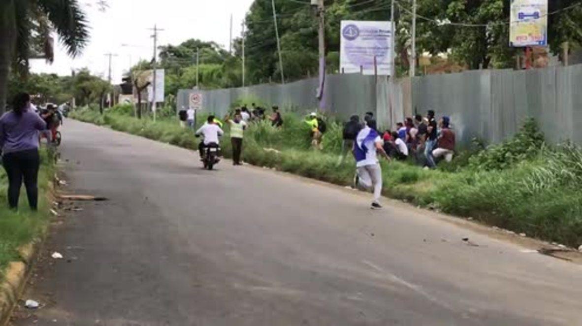 Nicaragua: Tiroteo en manifestación estudiantil deja 11 heridos *EXPLÍCITO*