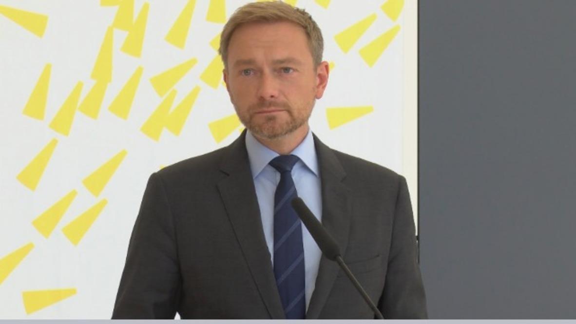 Germany: 'A power issue' - FDP's Lindner slams CDU/CSU migrant dispute