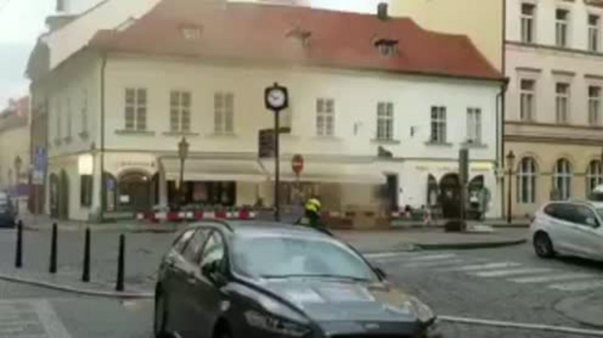Czech Republic: Massive gas leak rattles central Prague