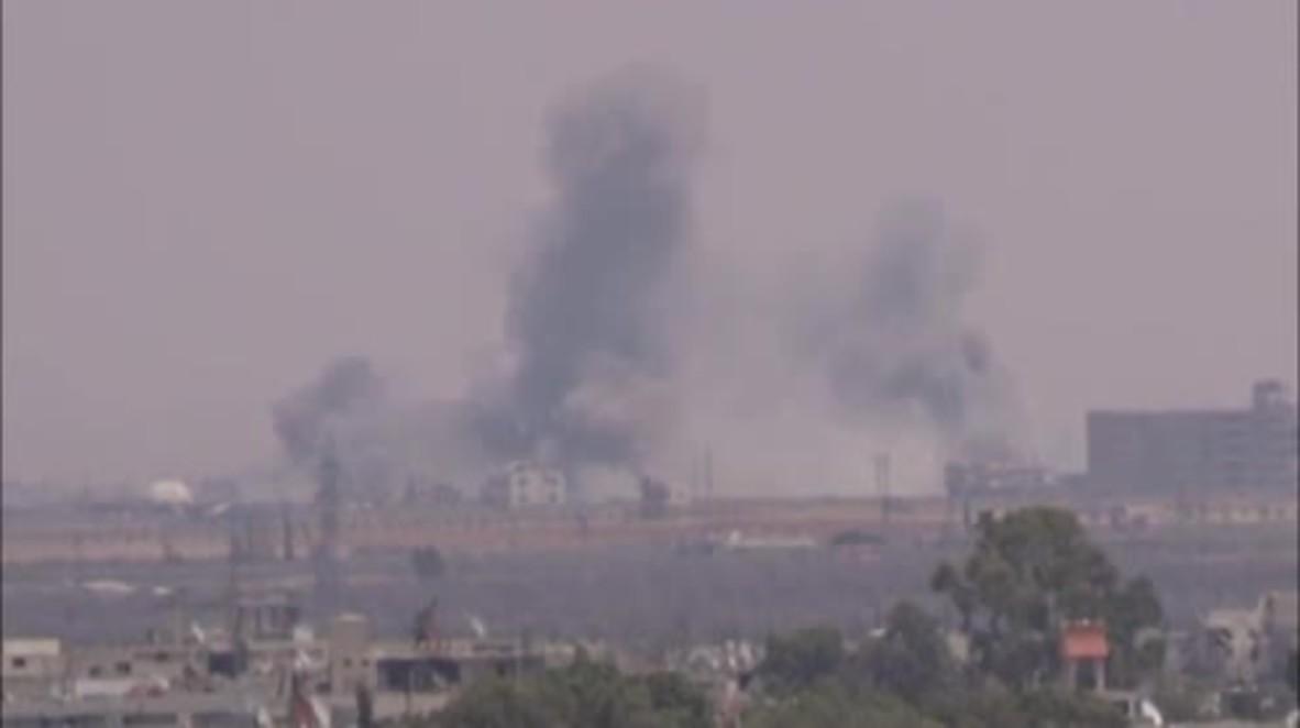 Siria: El Ejército Árabe Sirio realiza ataques en la ciudad de Saida, al este de Daraa