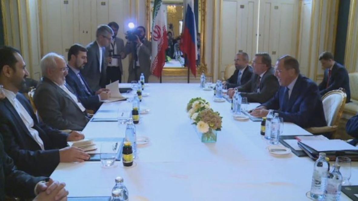 Austria: Lavrov meets Iran's Zarif to discuss nuclear deal