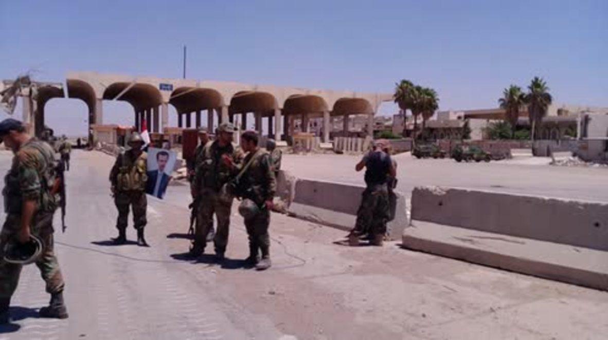 Syria: Government forces retake Nassib border crossing with Jordan
