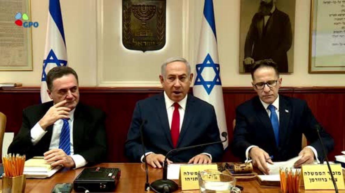 Israel: Netanyahu reiterates objection to Iranian presence in Syria ahead of Putin meeting