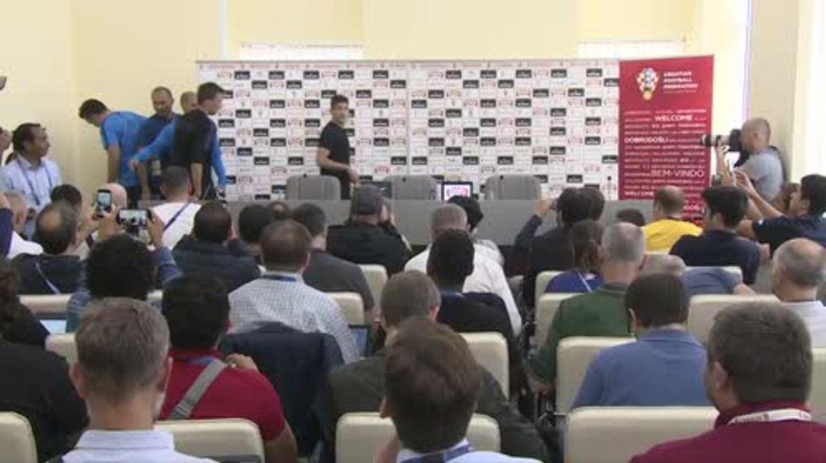 Russia: Croatia have 'no fear' ahead of World Cup semi-final