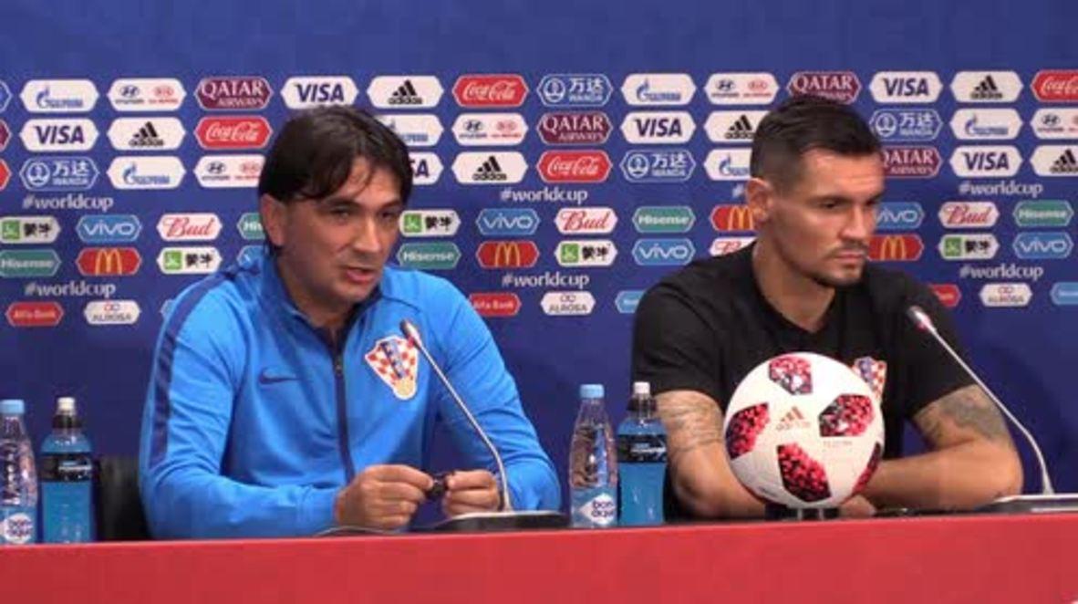 Rusia: Croacia 'pasará a la historia como un gran equipo' - Dice el entrenador Dalic