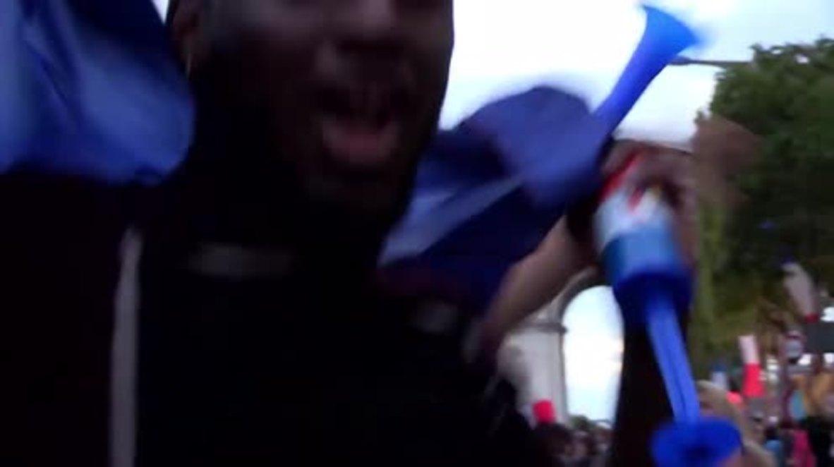 France: Vive le France! Paris revels in World Cup finalists France