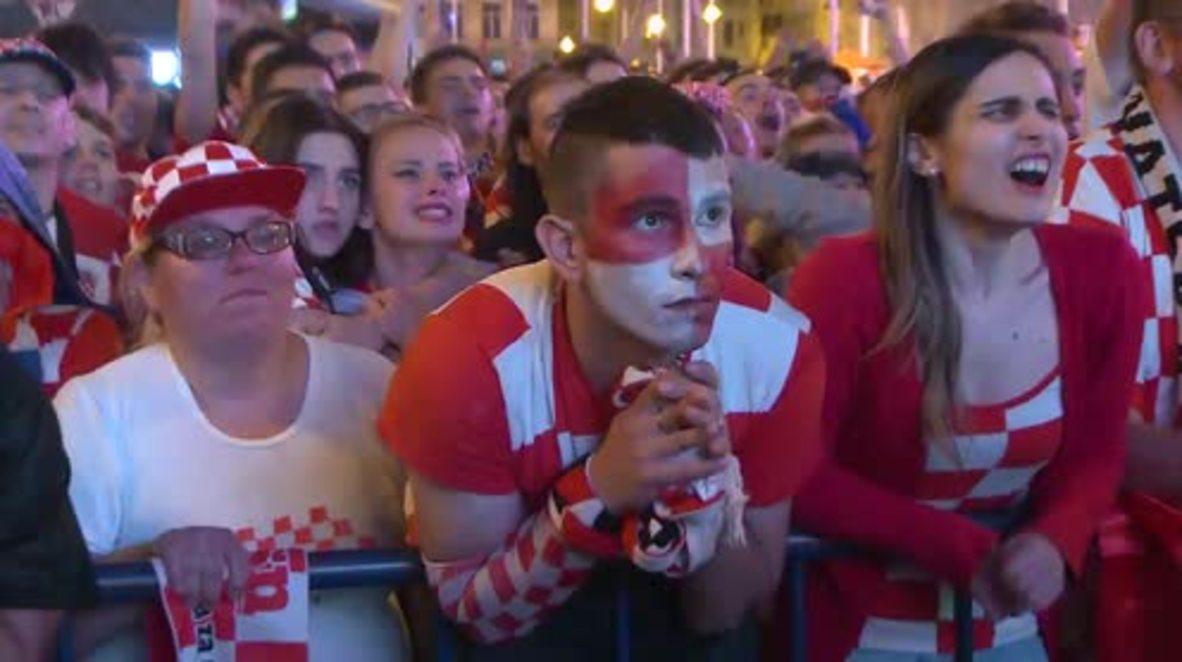 Croatia: Zagreb BURNS for finalists Croatia