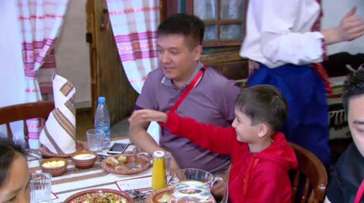 Russia: Kazakh kid wins golden ticket to World Cup final