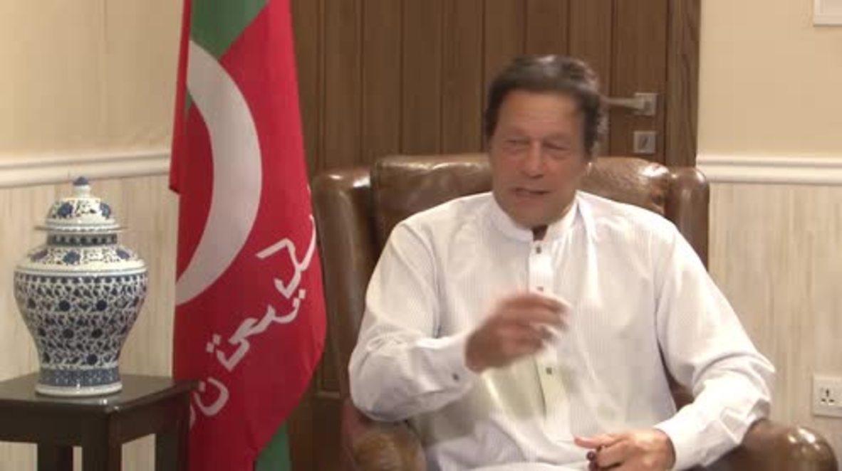 """Pakistán: Imran Khan está """"preparado para gobernar"""" a medida que se acercan las elecciones generales"""