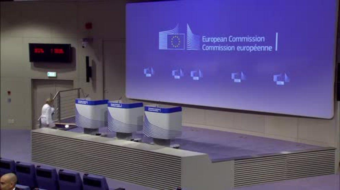 """Bélgica: La Comisión Europea """"se prepara para cualquier resultados"""" del brexit, según la portavoz del organismo"""