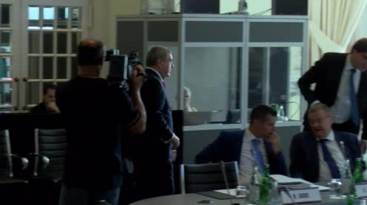 Switzerland: IOC talks Kosovo, Serbia tensions in hosting events