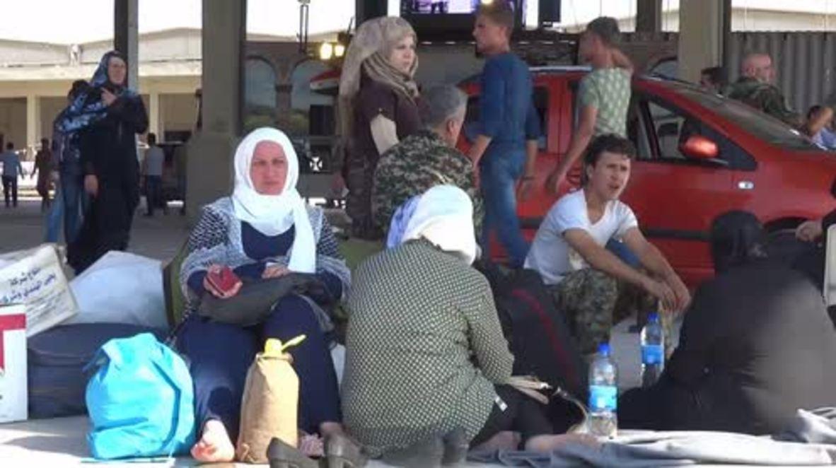 Syria: Al-Fua and Kafraya citizens recount siege, evacuation