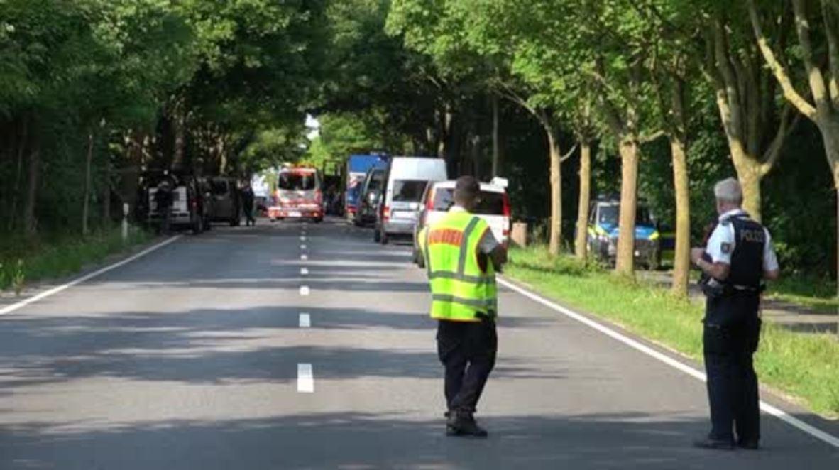 Germany: Police on scene after bus knife attack leaves several injured