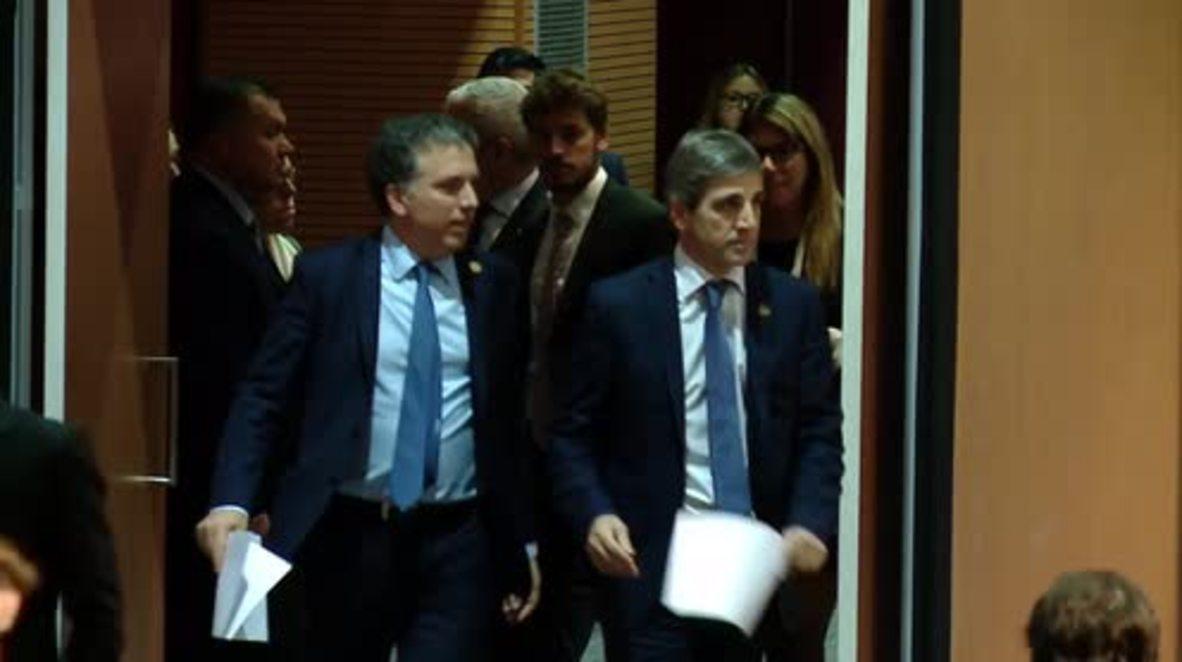 Argentina: Los ministros de Finanzas del G20 piden un mayor diálogo ante las tensiones comerciales