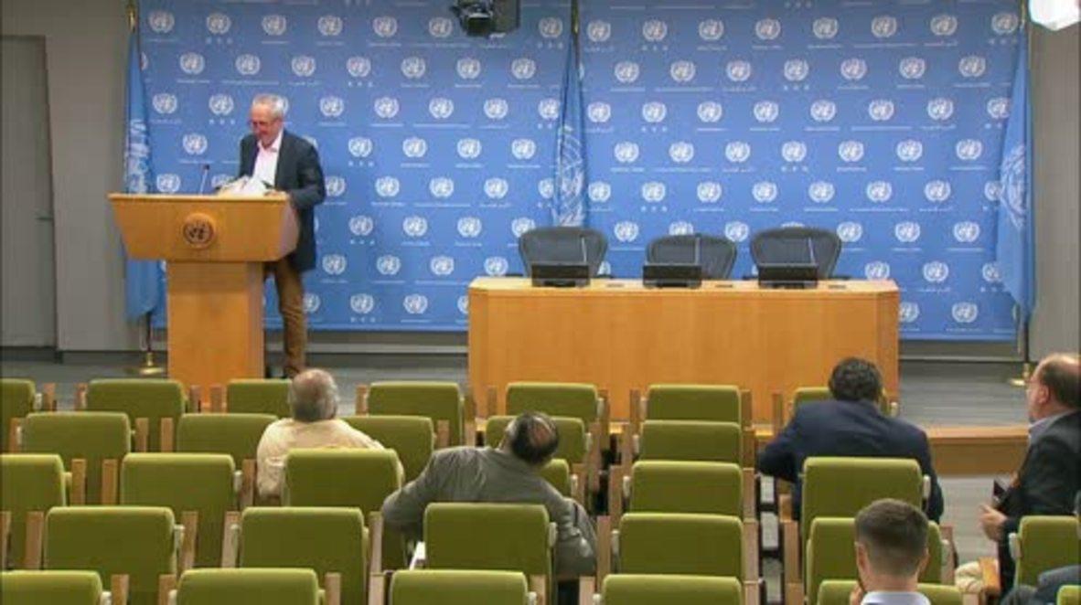 UN: concern raised for 200,000 civilians in Syria