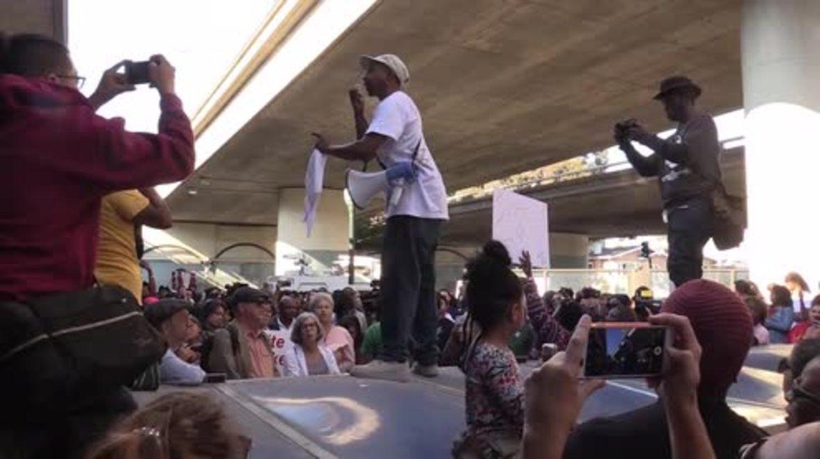 EE.UU.: La comunidad de Oakland exige justicia para la adolescente asesinada Nia Wilson