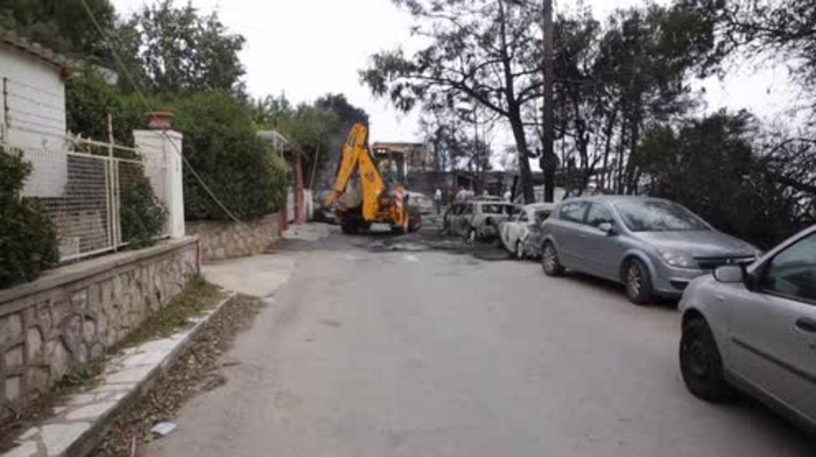 Grecia: 74 víctimas de incendios forestales