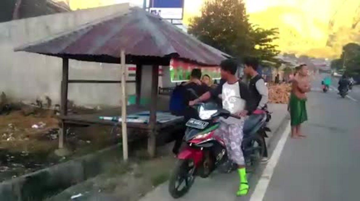 Indonesia: Al menos 10 muertos y 40 heridos en un terremoto en la isla turística de Lombok