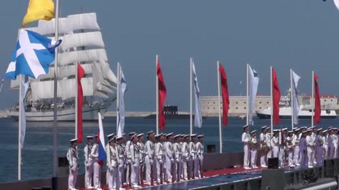 Russia: Black Sea Fleet holds Sevastopol Navy Day parade
