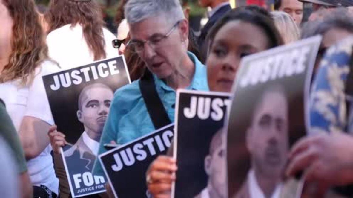 EE.UU.: Cientos de personas exigen justicia en Mineápolis para Thurman Blevins, asesinado a tiros por la policía