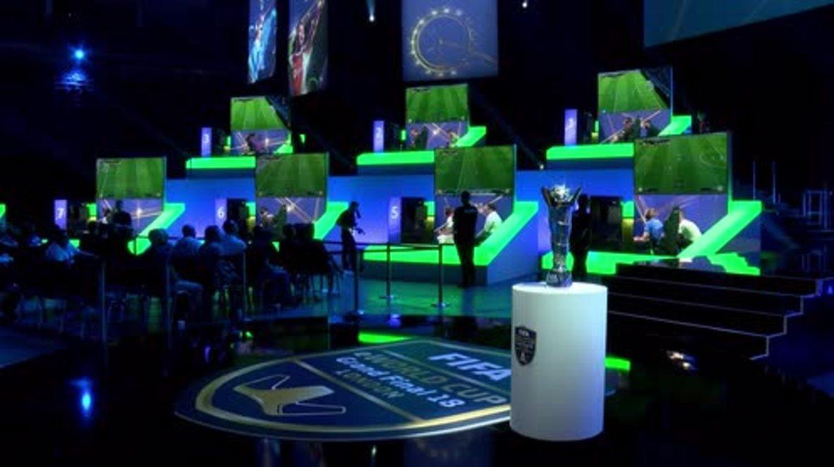 UK: FIFA eWorld Cup final clicks off in London