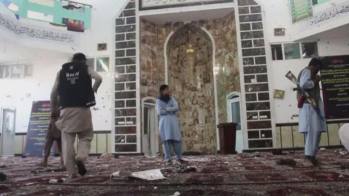Afganistán: 29 personas mueren en un ataque suicida en una mezquita chií
