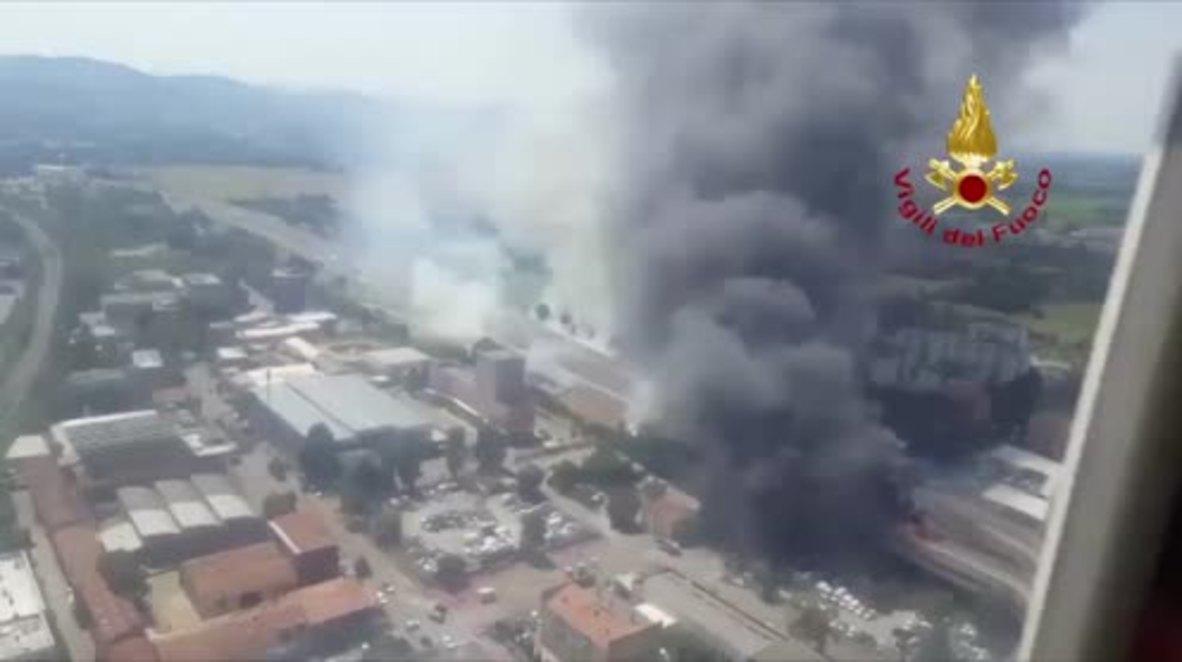 Italia: Al menos 20 heridos por explosión cerca del aeropuerto en Bolonia