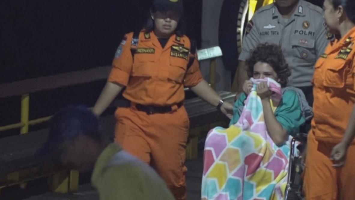 """Indonesia: """"Estábamos muy asustados, fue una experiencia terrible"""" - Dicen los turistas tras el devastador terremoto"""