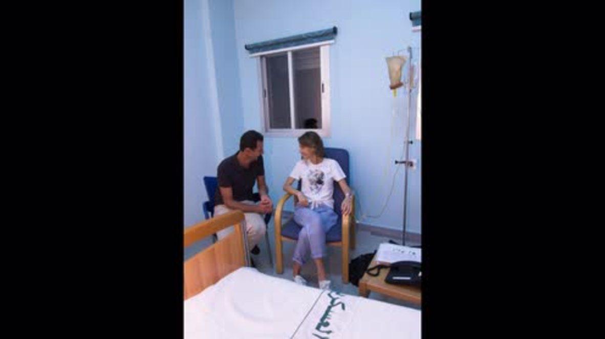 Siria: Esposa de Assad diagnosticada con cáncer de mama *FOTOGRAFÍAS*