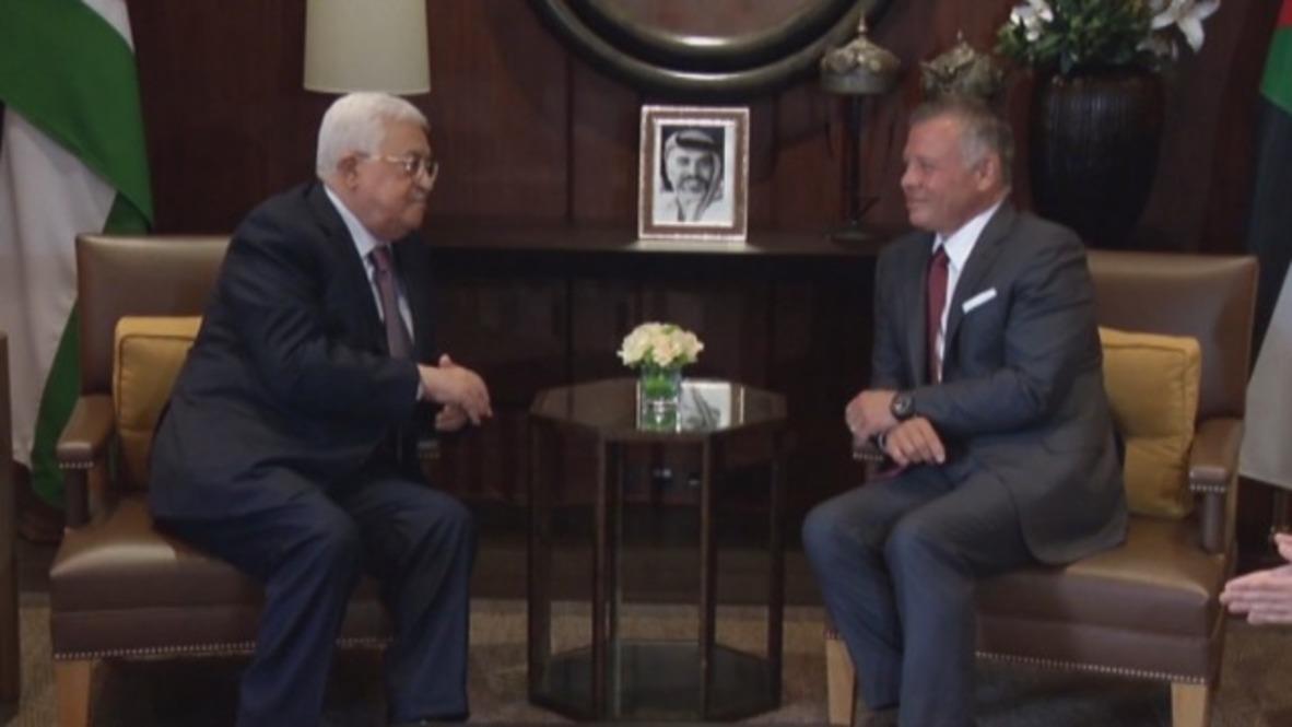 Jordan: Abbas meets with King Abdullah II over Palestinian cause
