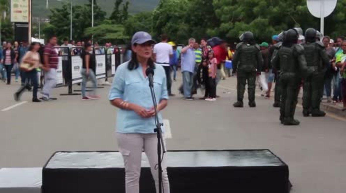 Colombia: Nikki Haley anuncia 9 millones de dólares adicionales para ayudar a los inmigrantes venezolanos