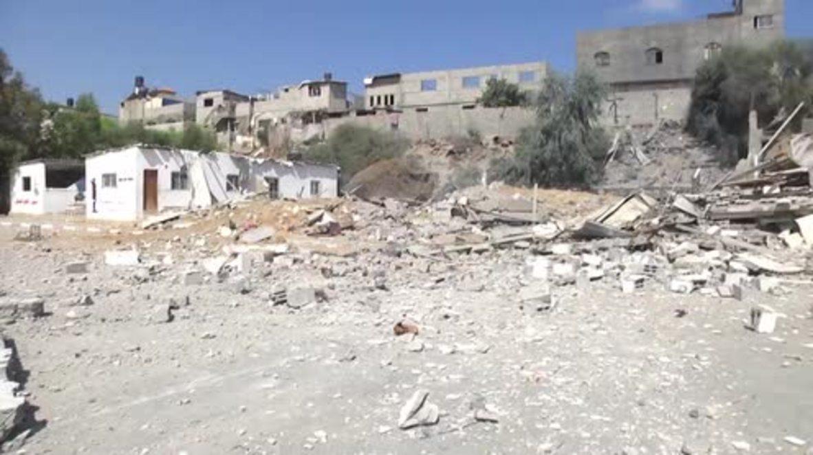 Estado de Palestina: Sitios de Hamas destruidos tras ataques aéreos israelíes