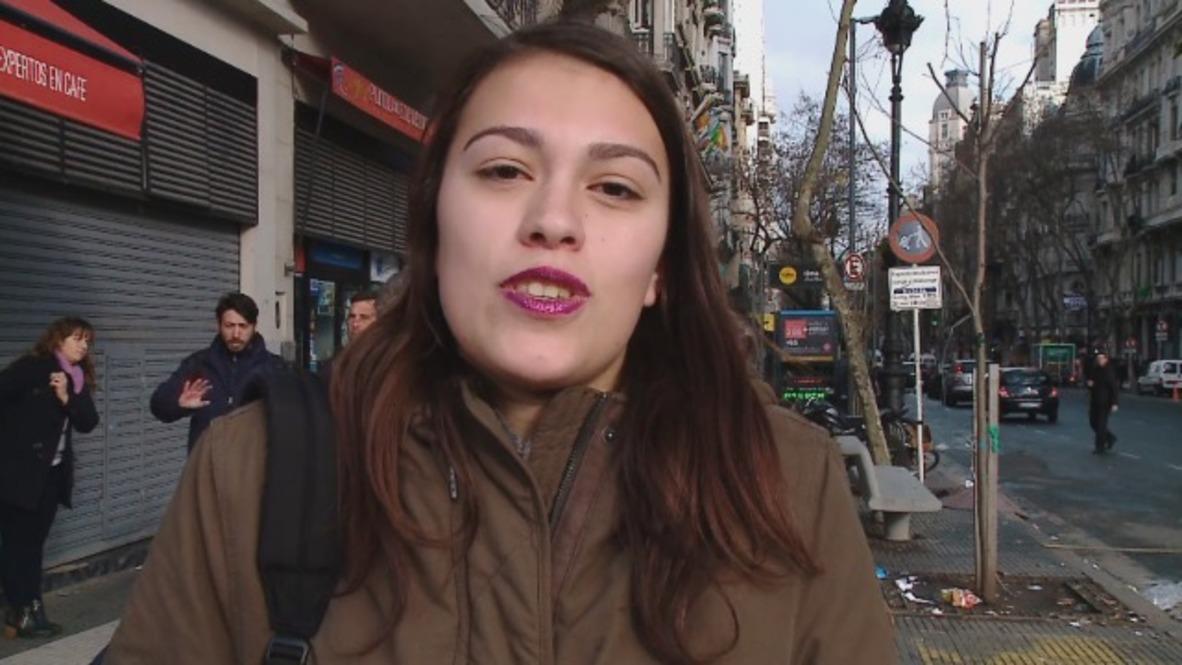 """Argentina: Las mujeres de Buenos Aires reaccionan ante el """"no"""" del Senado sobre el proyecto de ley de aborto"""