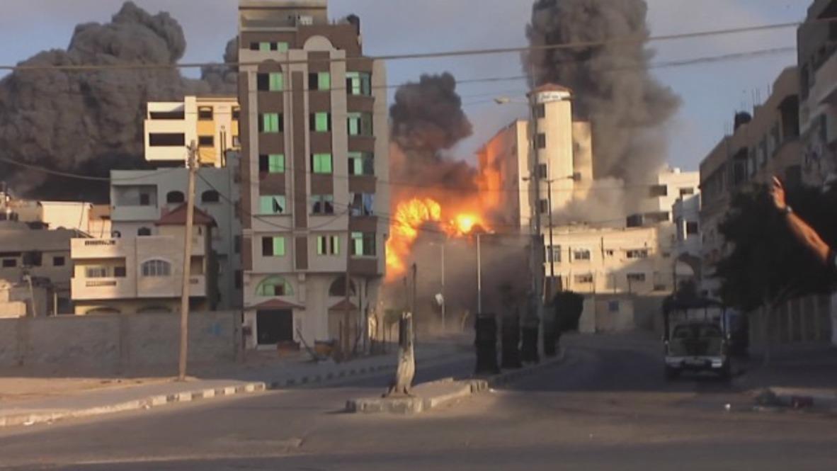 State of Palestine: Gaza cultural centre demolished in Israeli airstrike