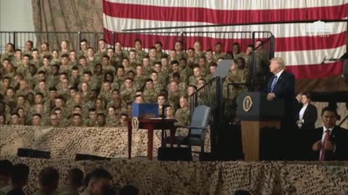 EE. UU.: Trump firmó el presupuesto de Defensa más alto en la historia del país