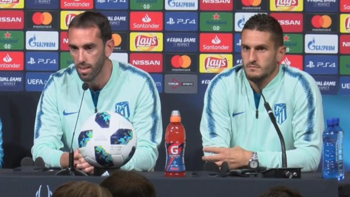 Estonia: Atlético listo para jugar contra el Real tras la salida de Ronaldo